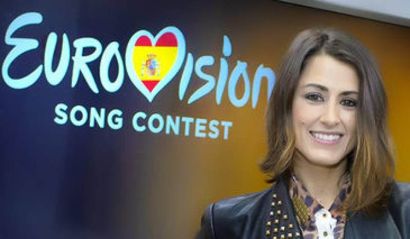 Barei, la representante española en el concurso europeo de la canción