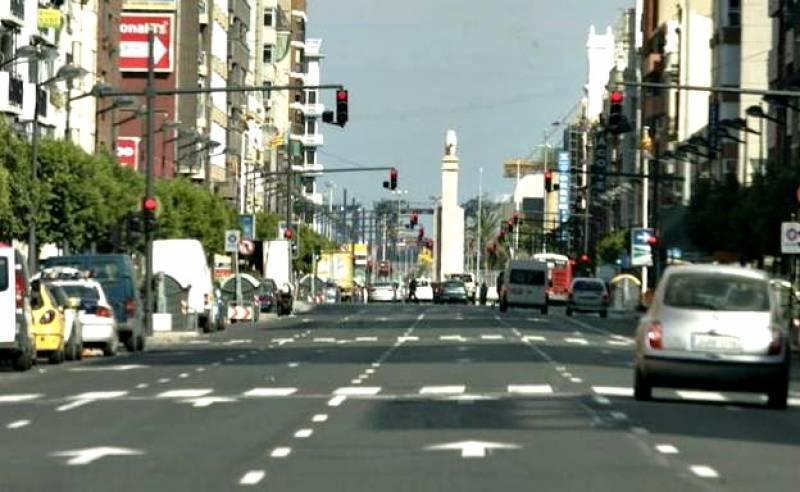 En esta fecha se abrió la Avenida del Puerto…