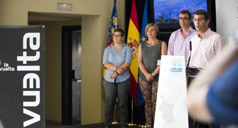 Presentación de la etapa valenciana de La Vuelta