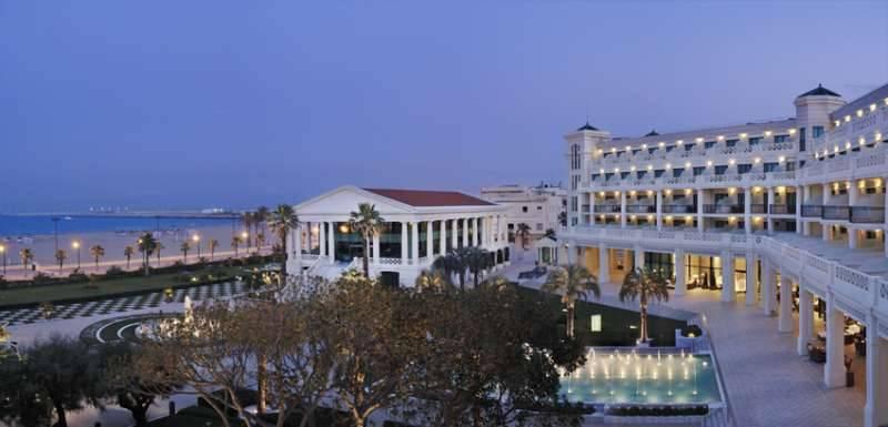 El Hotel Las Arenas Balneario Resort. EPDA