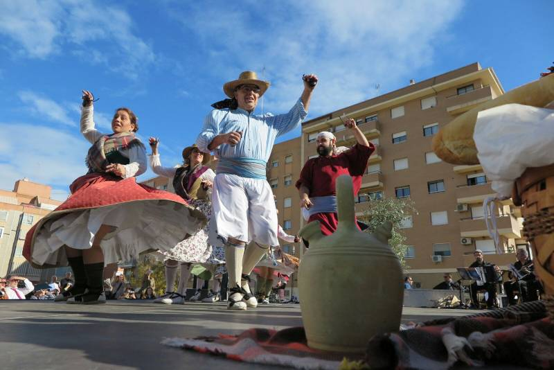 Una de las jornadas de la pasada Trobada de Folclore