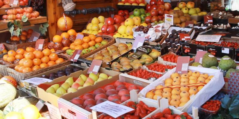 Frutería del Mercado central de València./ EPDA