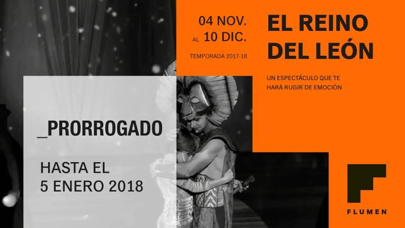 El Reino del León en el Teatro Flumen