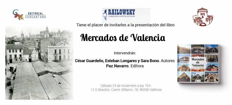 INVITACIÓN MERCADOS DE VALENCIA abastos