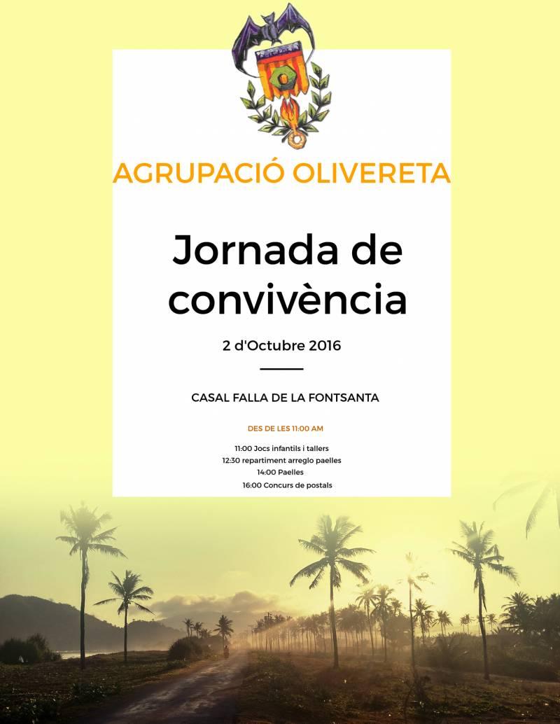Agrupació Olivereta, Jornada de Convivencia