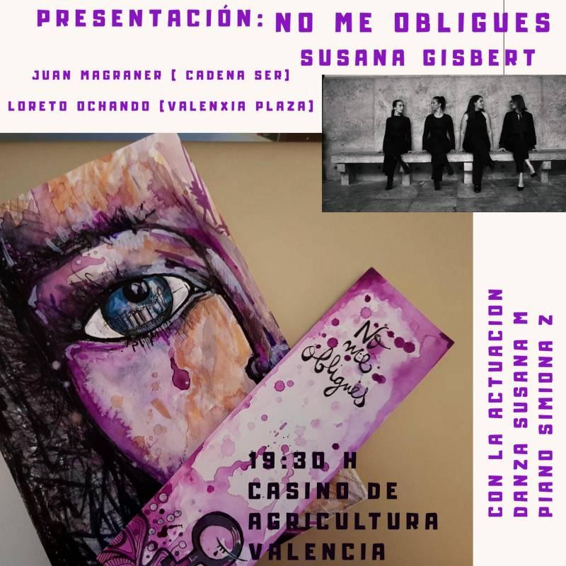Presentación de la novela 'No me obligues' de Susana Gisbert