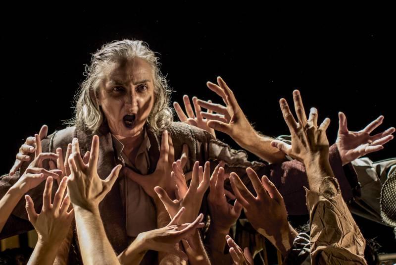 El Institut Valencià de Cultura presenta la aclamada obra 'Rey Lear' de la compañía Atalaya