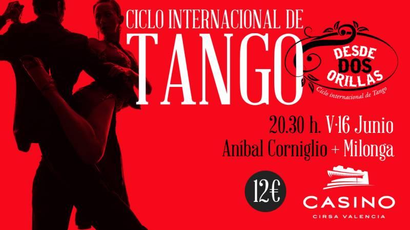 Ciclo Tango junio Casino Cirsa Valencia