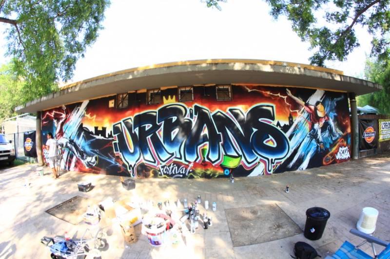 Grafiti de Urbans Festival