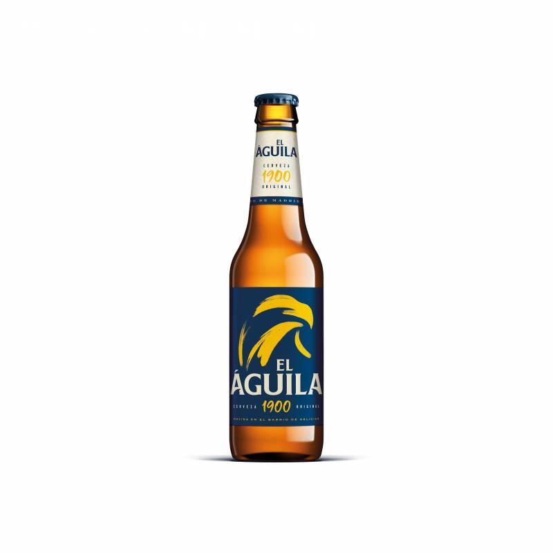Cerveza El Águila botella