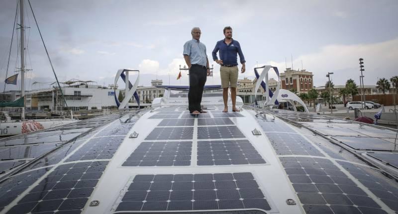 Visita al vaixell Energy Observer