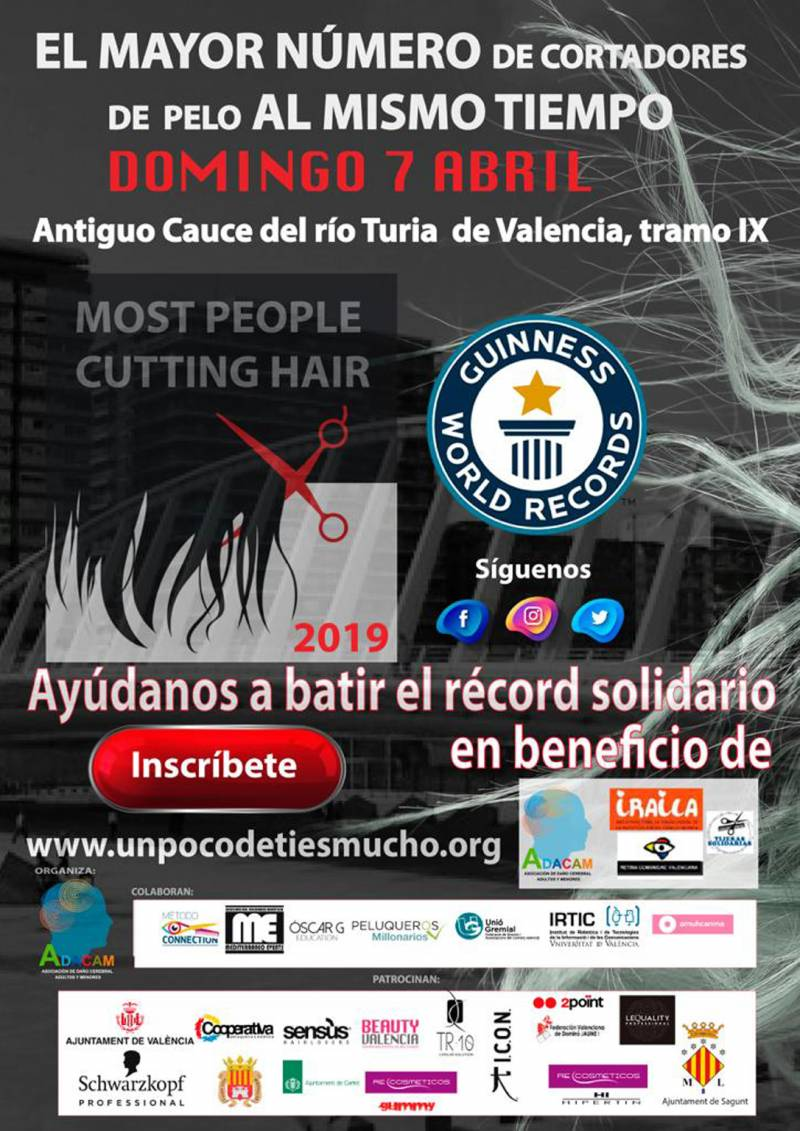 Guiness World Records 7 de abril Valencia