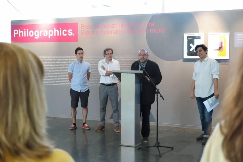 Genís Carreras, Marc Borràs, Rafa Company i Alfonso Moreira
