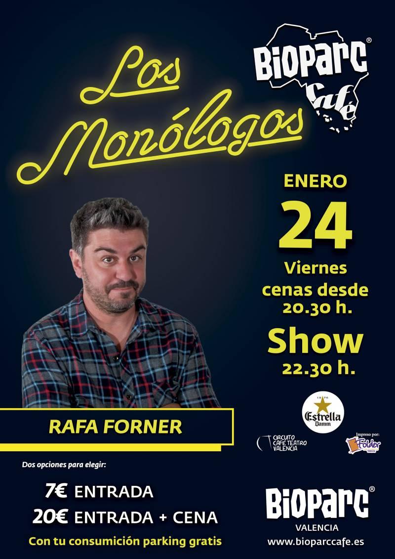 BIOPARC Café - monólogo Rafa Forner enero 2020