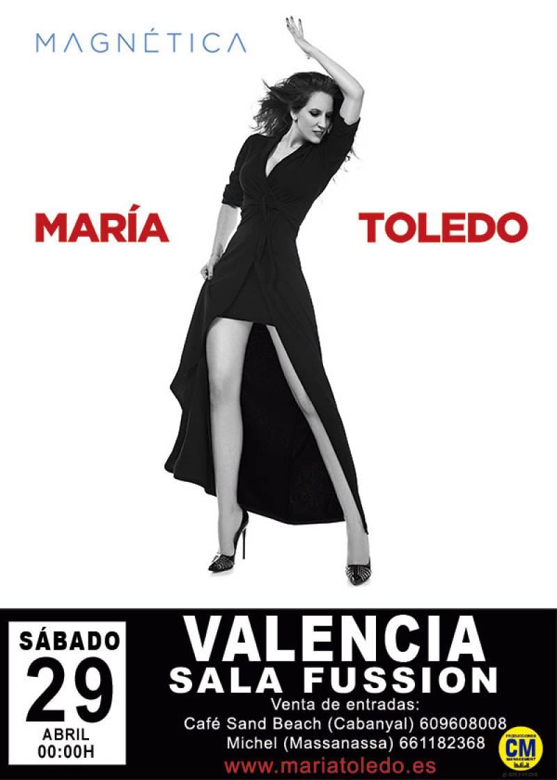 María Toledo en concierto