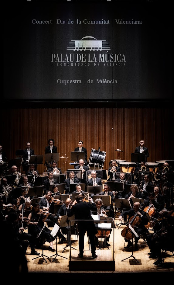 L?Orquestra de València dedica un concert commemoratiu al dia del poble valencià.