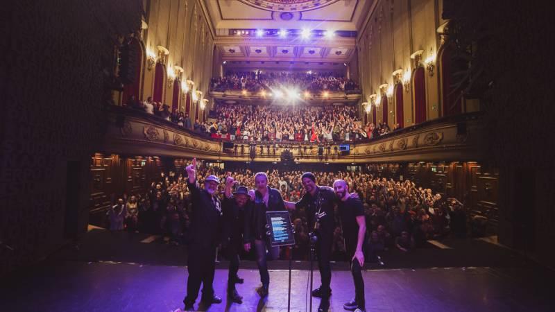 Revolver en el primer concierto de esta gira en Teatro Nuevo Apolo Madrid con todo el aforo vendido // Fotografía: Miguel Ángel Calvo