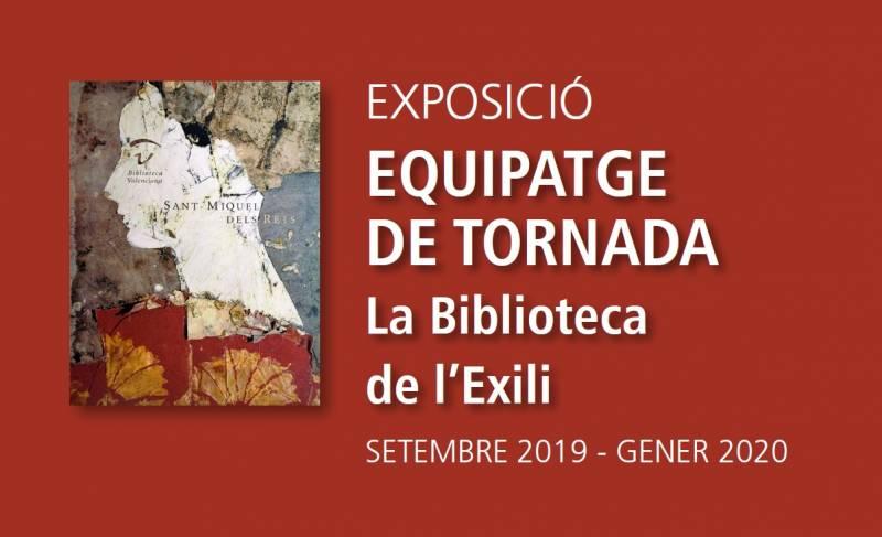 La Biblioteca Valenciana abre la exposición 'Equipaje de vuelta', que muestra los archivos personales de exiliados valencianos