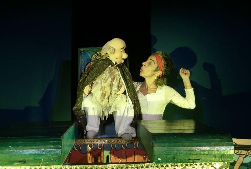 El Rey Voltereta : : Teatro La Estrella