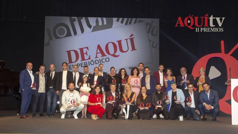 Foto de familia de la gala pasada