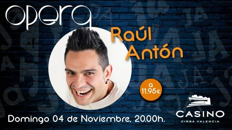 Raúl Antón noviembre Casino Cirsa Valencia