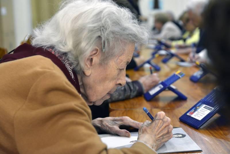 Talleres personas mayores Fundación Bancaja