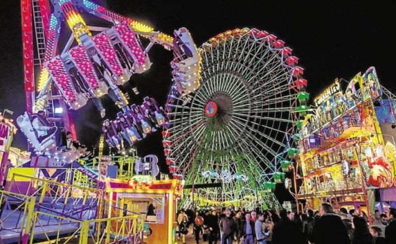 Imagen de archivo Feria de atracciones de València./ EPDA