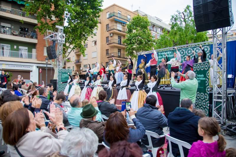 Trobada Folklore - València. Barri Patraix