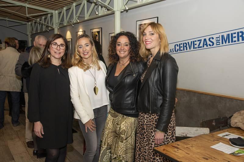 Anabel Navas, Ana Mansergas, Monia Antonioli y Begoña Machancoses
