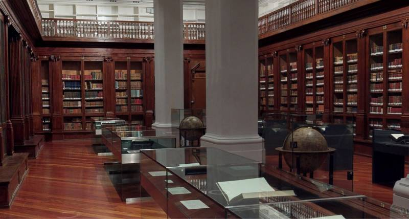 Biblioteca Histo?rica Universitat de Vale?ncia. Sala Duc de Calabria