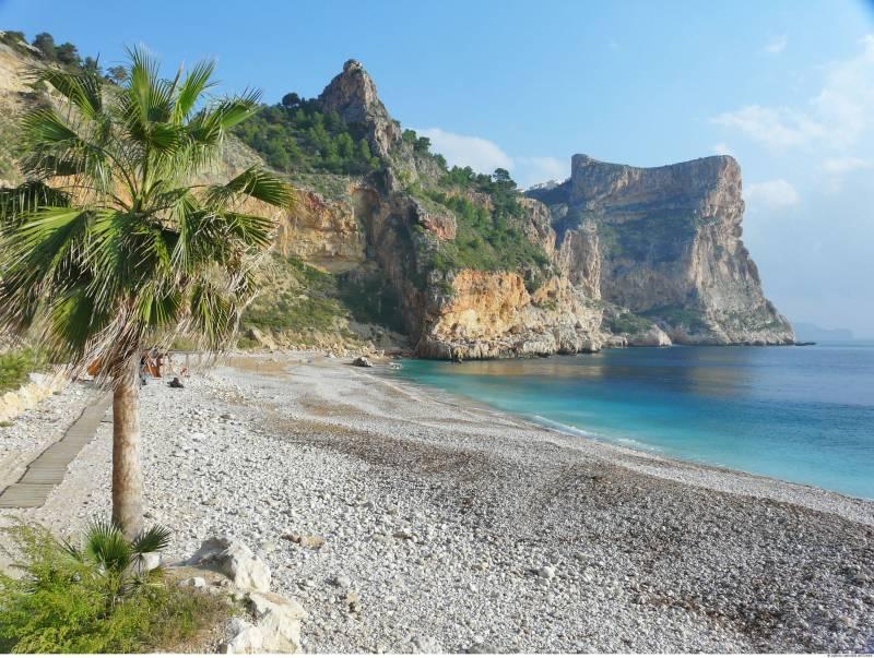 Playa benitatxell, Benitachell, Comunidad Valenciana