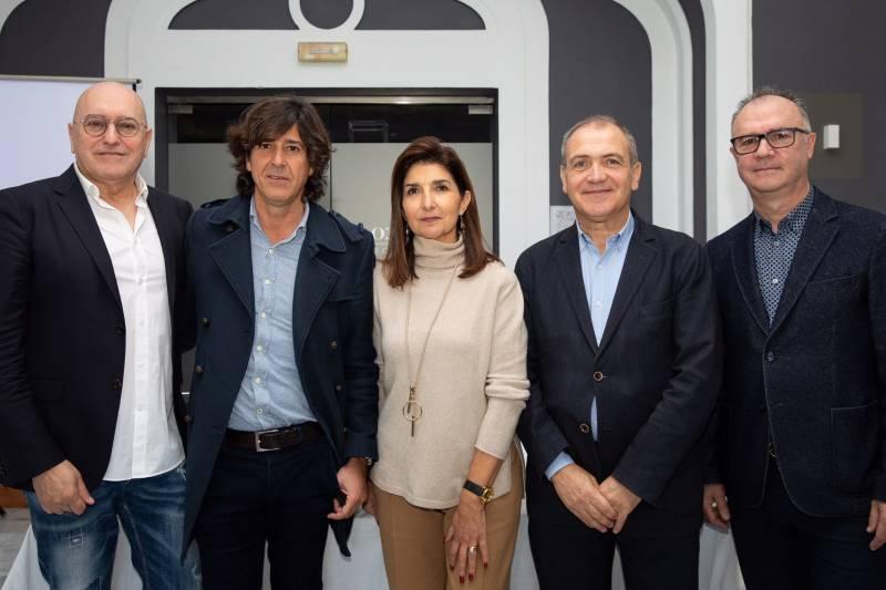 Josep Lozano, Miguel de Vicente, Isabel Cosme, Antoni Bernabé y Paco Mora