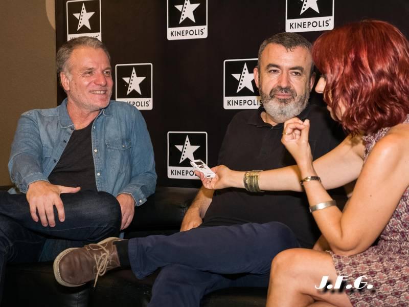 Entrevista al director de cine Andrés Koppel y al escritor Lorenzo Silva