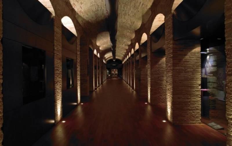 Interior del Museu de Història de València. EPDA