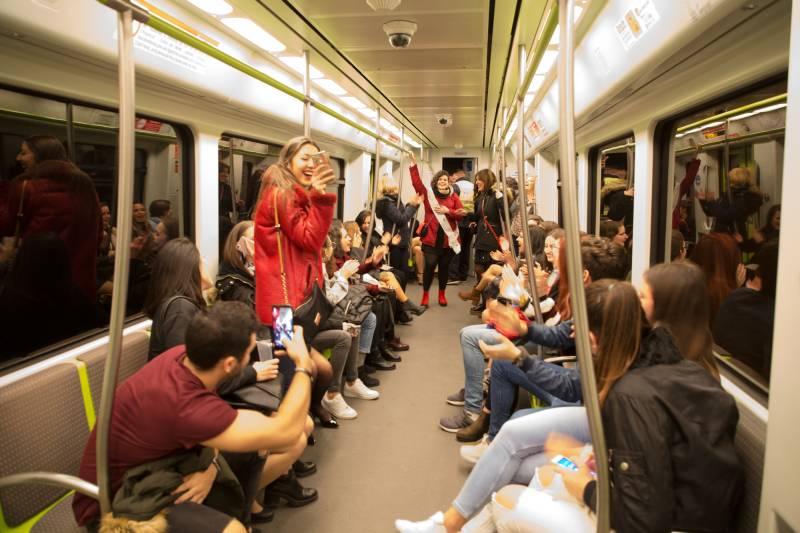 La Generalitat facilitará la movilidad en las tradicionales Cenas de Navidad con el servicio nocturno de Metrovalencia