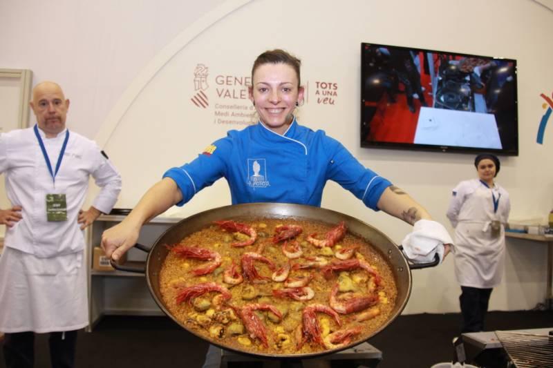 Lara Roquez, ganadora premio Chef del Año 2020./ EPDA