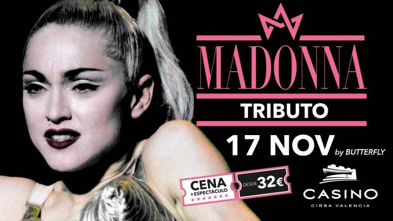 Tributo a Madonna en Casino Cirsa Valencia