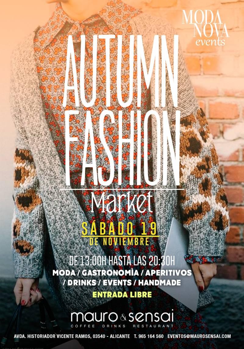 Autumn Fashion Market Alicante