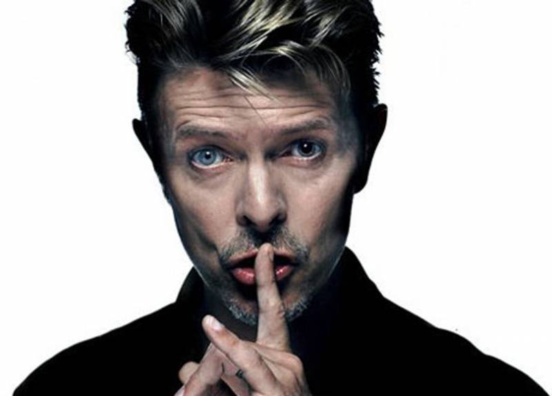 David Bowie, en una imagen promocional : : 16 Toneladas