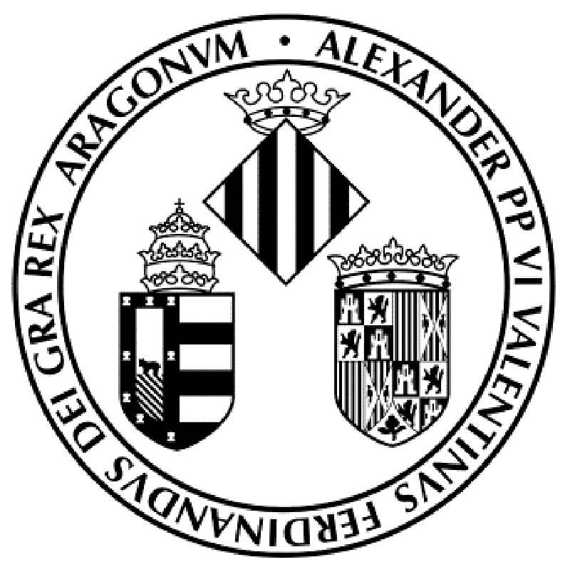 Logo Universitat de Valencia. EPDA