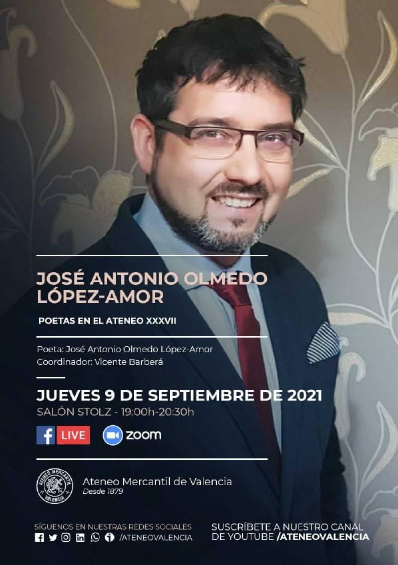 El poeta José Antonio Olmedo López-Amor. EPDA