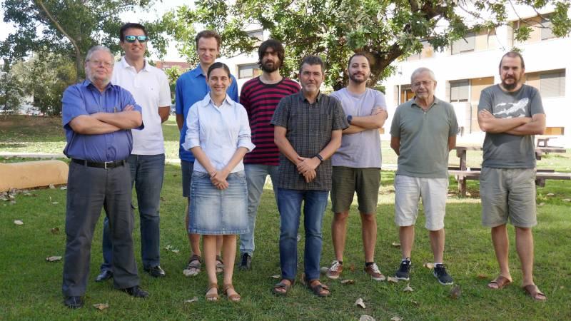 Part de l?equip de Virgo de la Universitat de València