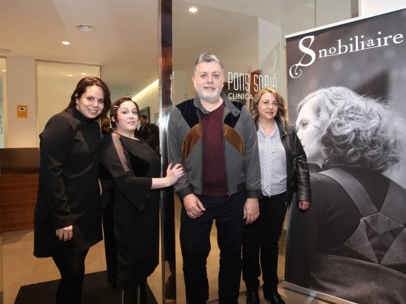 Viki Pons,  Gloria Hernández, Oscar Suay y Concha Miñana