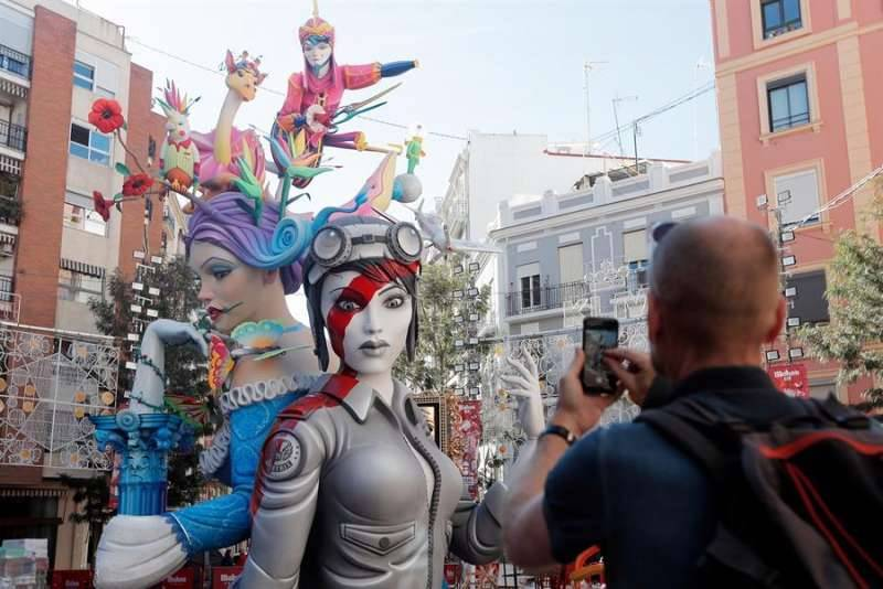 La Falla Cuba Literato Azorín de 2020. EPDA