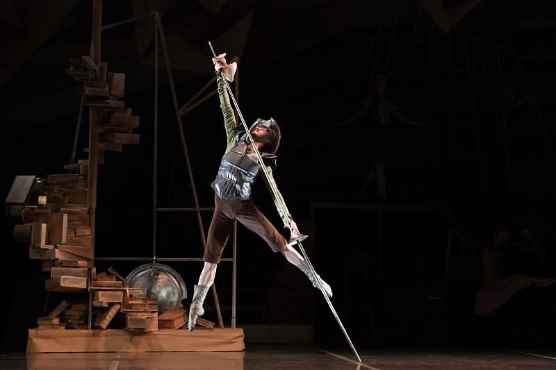 Quijote, Sagunt a Escena