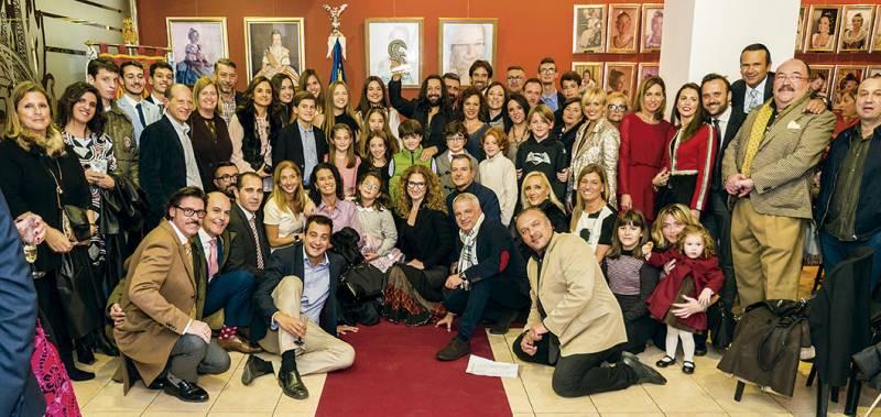 Foto de familia. FOTO JOSÉ FÉLIX GIMENO