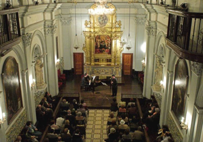 Imagen de archivo Aula de Música de la Universitat de València./ EPDA