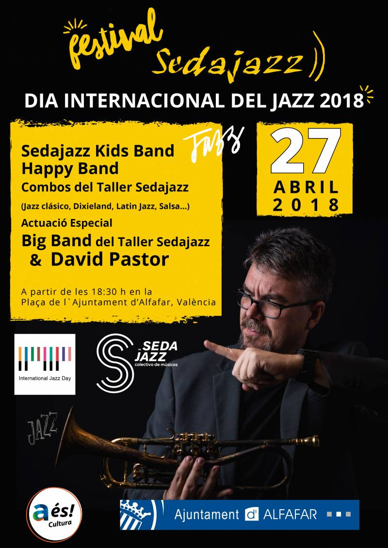 CARTEL DÍA INTERNACIONAL DEL JAZZ