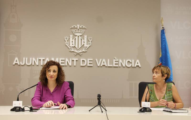 Maite Ibáñez y Marta Banyuls. VIU