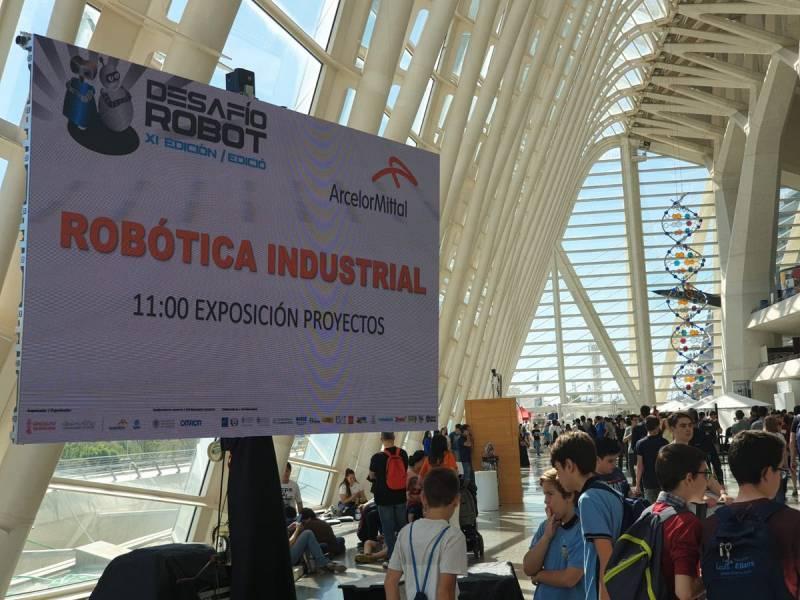 Desafío Robótica industrial